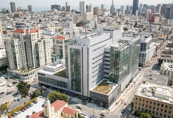 California Pacific Medical Center Van Ness Campus hospital