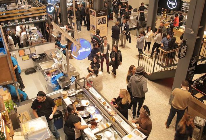 In A Crowding Market, Food Hall Operators Search For Ways To Stand Out