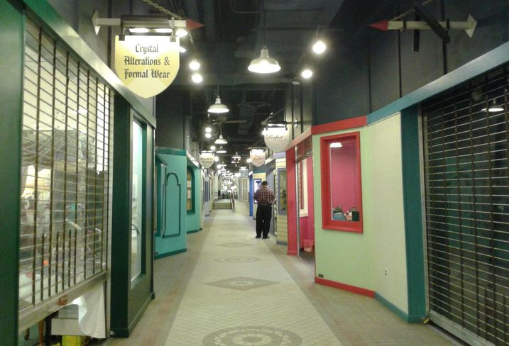 The Crystal City Shops, an underground mall in Arlington, Virginia