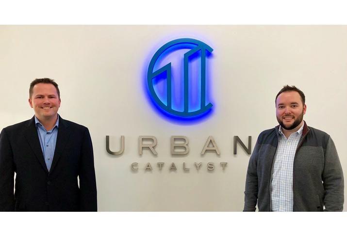 Urban Catalyst's Erik Hayden and Josh Burroughs