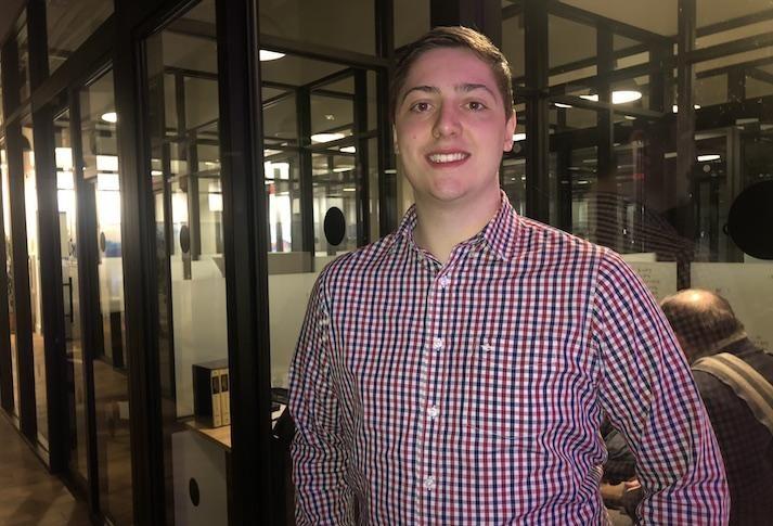 OpenPoll founder Zachary Wynegar