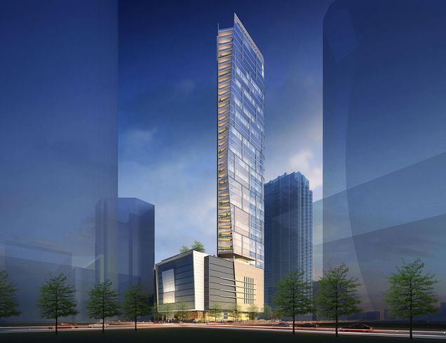 Renderings Reveal Hines' Vision For New 46-Story Residential Tower In Downtown