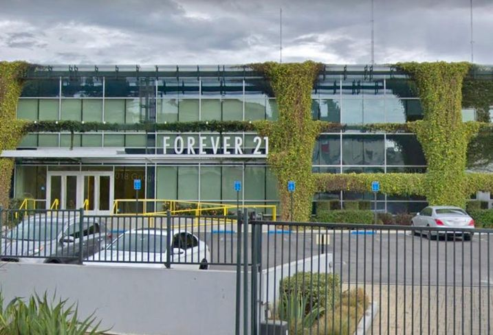 Forever 21 corporate headquarters at 3880 North Mission Road in Los Angeles