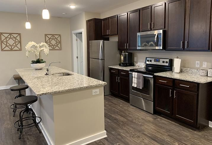 In some Class A apartments managed by GMH Capital Partners, units are often set aside as short-term rentals for a resident's visiting family or friends.