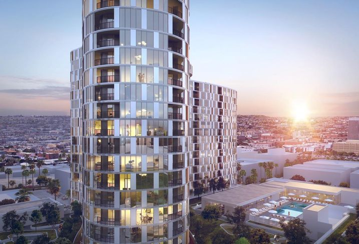A JV of Hankey Investment Co. and Jamison Properties has broken ground on a $300M, 25-story residential at 2900 Wilshire Blvd. in Koreatown Los Angeles