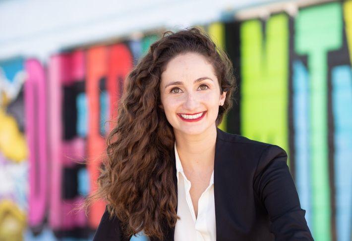 Deep Ellum Foundation Executive Director Stephanie Hudiburg