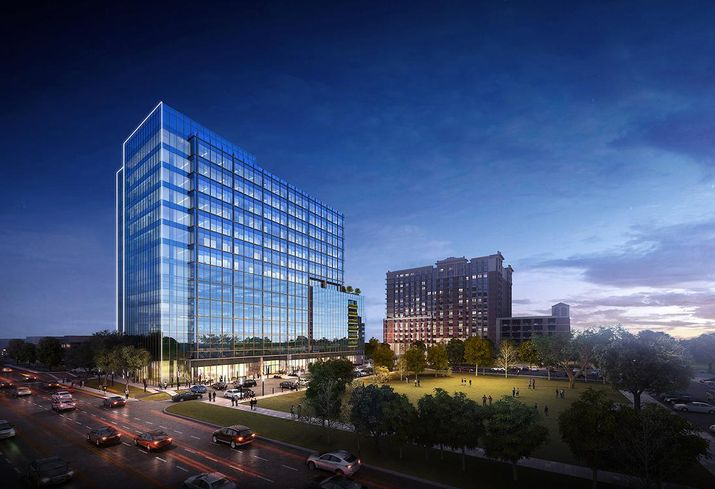 Rivers Oaks Mixed-Use Project To Include 15-Story Office Building
