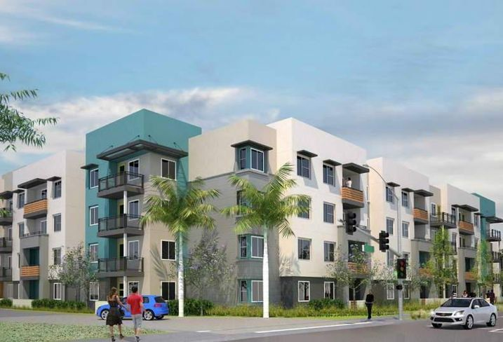Jamboree Housing's Manchester project at 2121 South Manchester Ave. and 915 East Orangewood Ave.