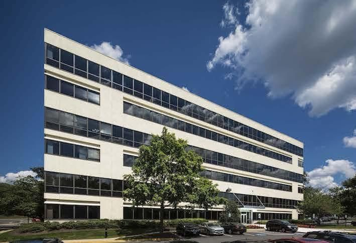 The office building at 1801 Research Blvd. in Rockville