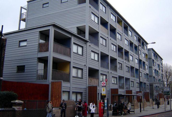 Modular housing 2005 london
