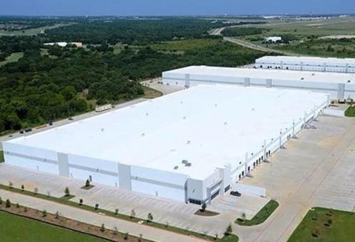 International Logistics Center industrial development near DFW Airport.