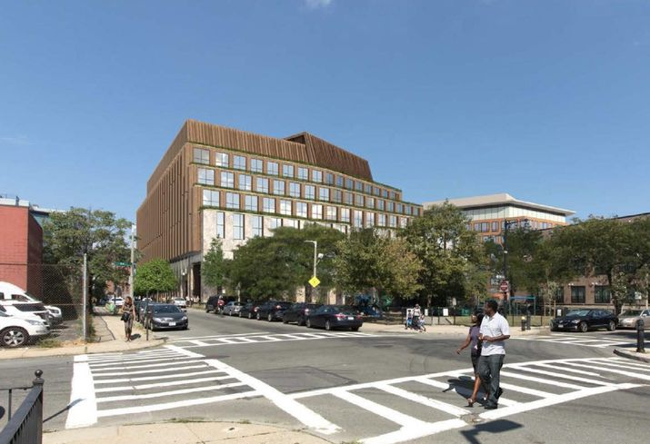 Alexandria, Anchor Line File Plans For 210K SF South Boston Lab Building