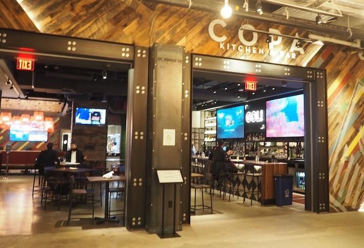 The Copa Kitchen & Bar, which opens out into the food hall at Ballston Quarter