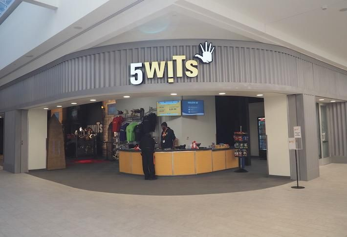The 5 Wits retail concept at Ballston Quarter