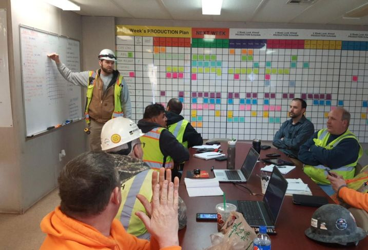 This Construction Firm's Solution To Serious Weather Delays: The Lean Construction Process