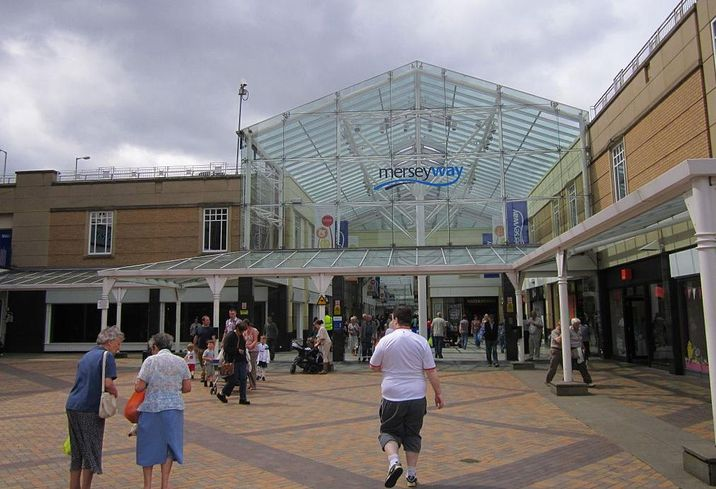 Merseyway shopping centre stockport