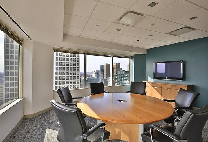Patzik, Frank & Samotny's new office at 200 South Wacker in Chicago's West Loop