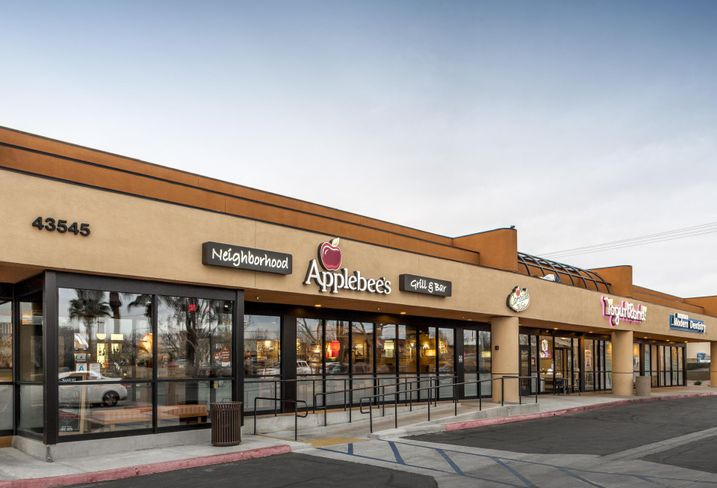 Retail property at 43545 10th St. W.