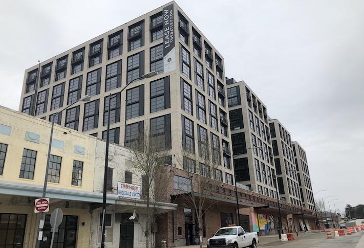 The Batley apartment building at 1270 4th St. NE