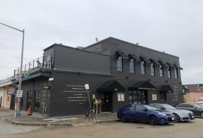 The Union District Oyster Bar & Lounge, which opened near Union Market in October