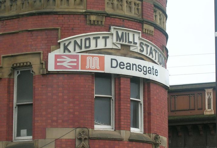 Deansgate station manchester