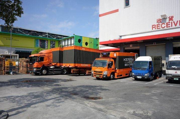 Trucks Costco Neihu Warehouse