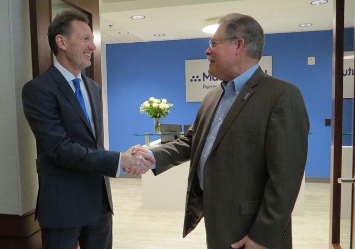 MassMutual Managing Partner Jeffrey Bulvin Peachtree Corners Mayor Mike Mason