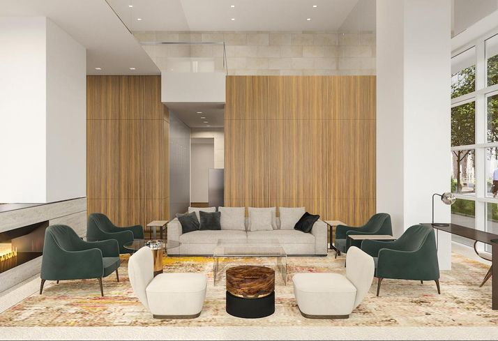 Take A Peek: Hines Reveals Interiors For 34-Story Residential Tower In The Museum District