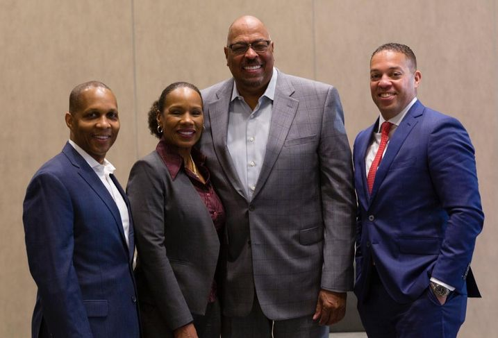 CBRE Senior Vice President Derrick Moore, Archere Investment Management Principal Lynn King-Tolliver, Avanath Capital CEO and Founder Daryl Carter and Clarion Partners Managing Director Khalif Edwards