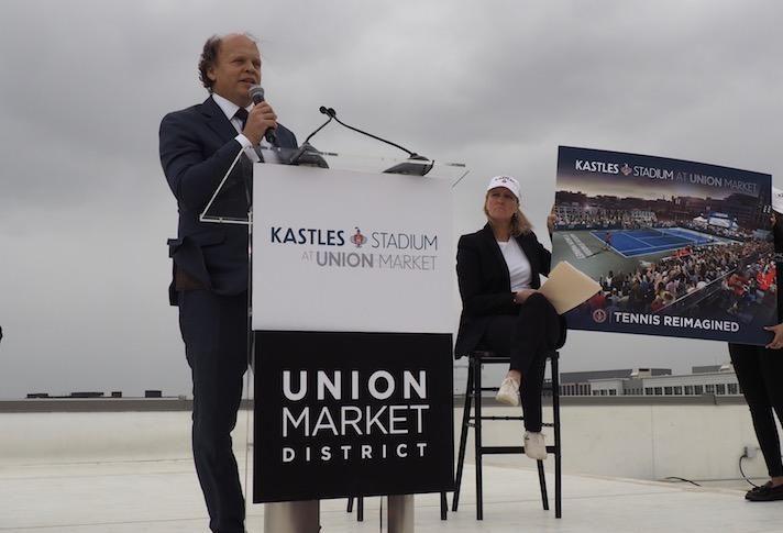 Kastles owner Mark Ein and Edens CEO Jodie McLean
