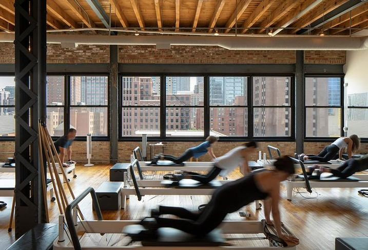 Workout room at 213 West Institute