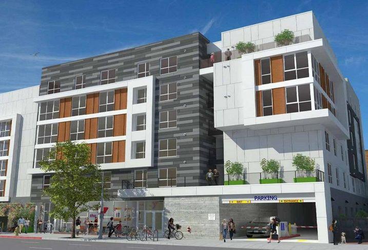 The Vermont Corridor Apartments in Los Angeles