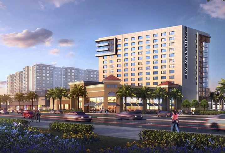 Rendering of the JW Marriott Anaheim
