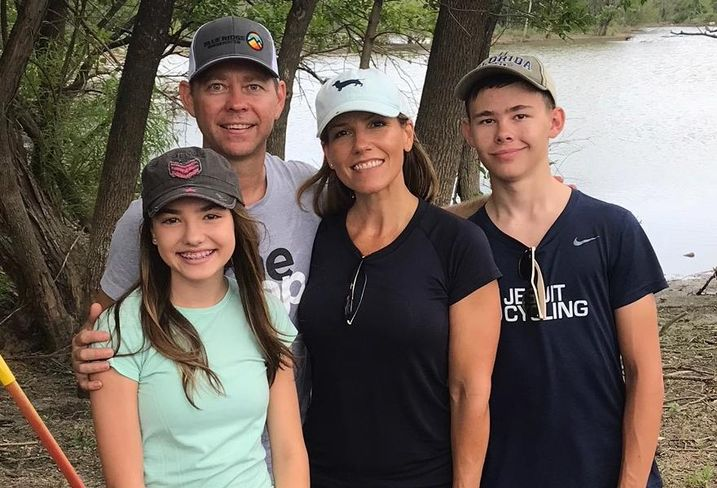 Rosewood Property Co. President Rick Perdue with his family enjoying the great outdoors.