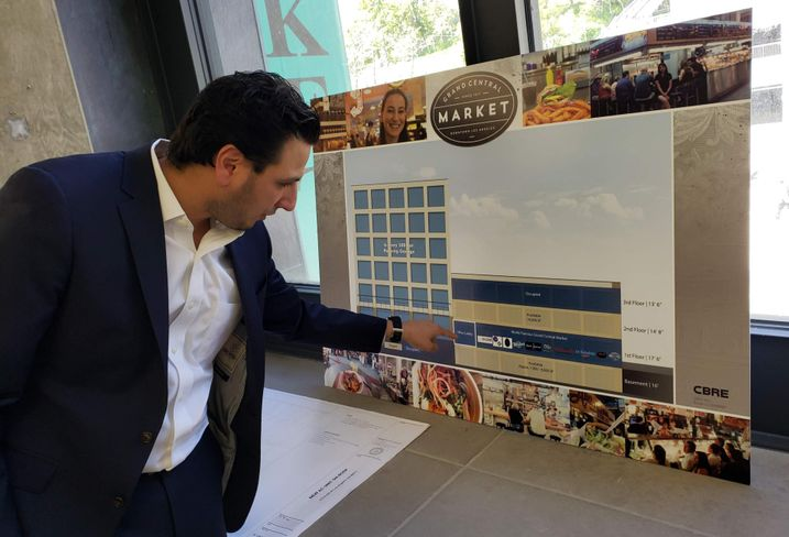 Langdon Street Capital Principal Adam Daneshgar discusses his company's renovation plans for the Grand Central Market in downtown Los Angeles.