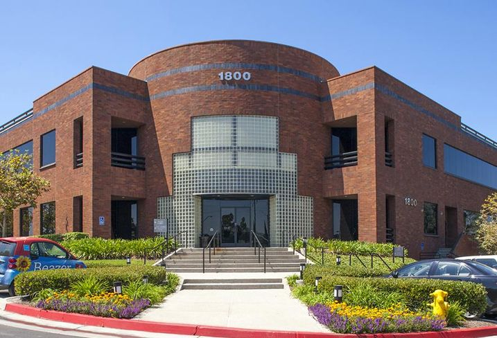 The Fairway Center I is a two-story office building on 5.5 acres at 1800 E. Imperial Highway in Brea.