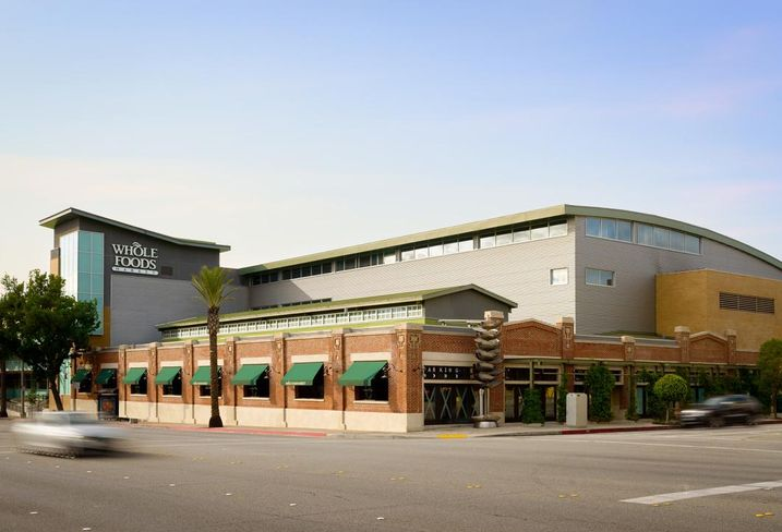 The Whole Foods building and 2 acres of land are located at 465-577 Arroyo Parkway in Pasadena.