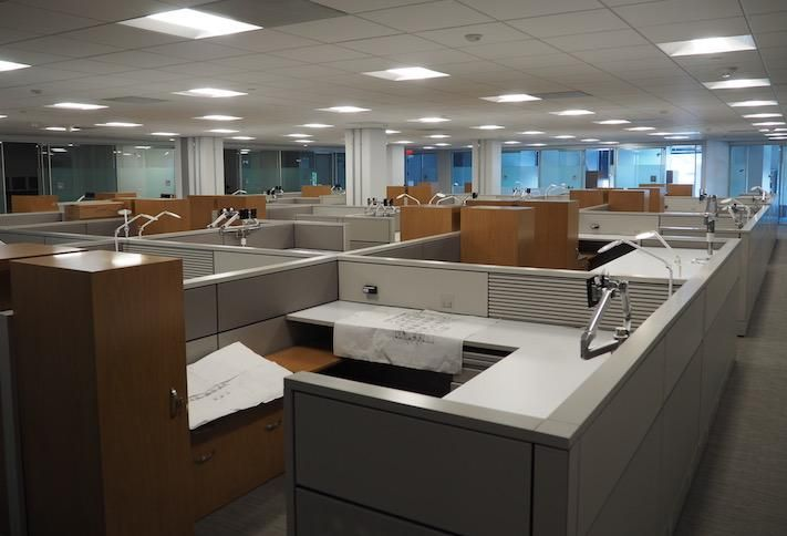 Open Office Designs Remain Popular In The U S Despite The Fact