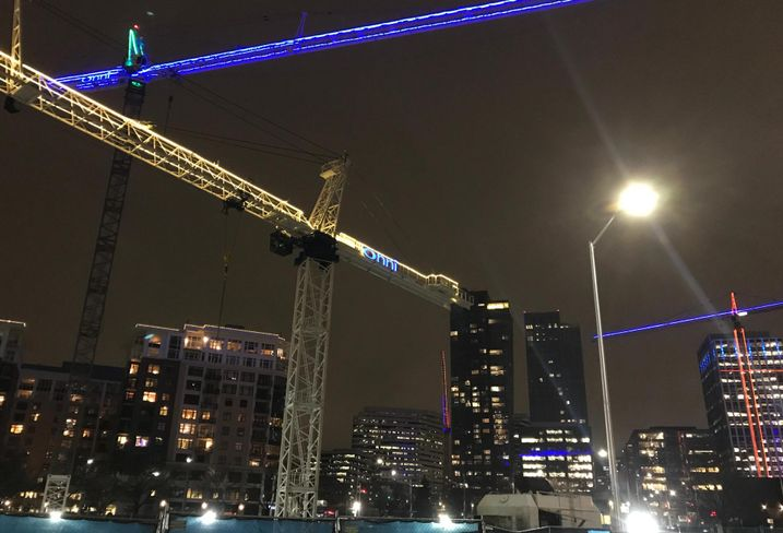 Three Firms Charged $107K For Crane Collapse