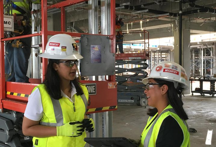 3 Women, 1 Construction Site, 1 Major Push To End The Labor And Diversity Shortage