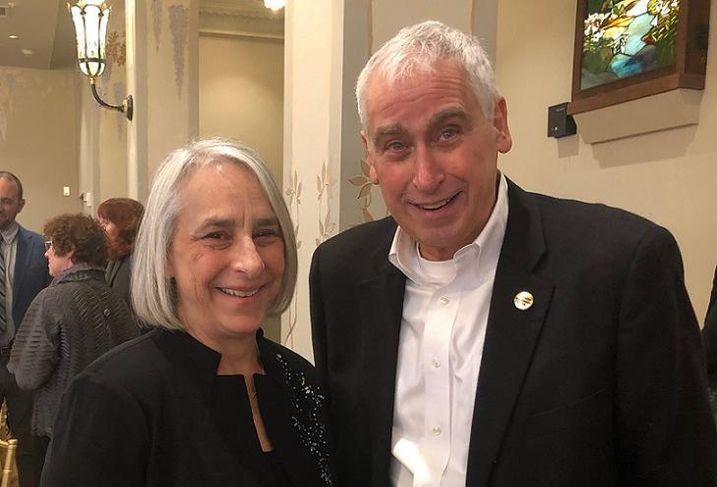 Jo Anne Gottfried and Howard Conant