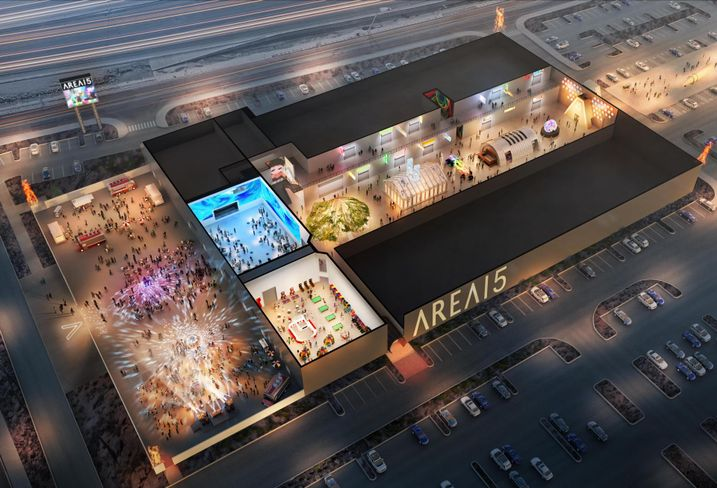 AREA15, an experiential retail and entertainment complex, slated to open next year