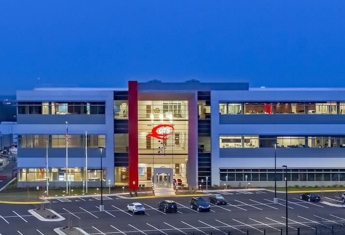 The three-level data center QTS developed in Ashburn