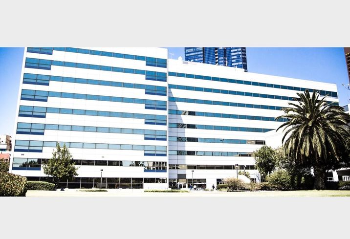 Rising Realty Partners' 1200 W. 7th Street office building in downtown Los Angeles