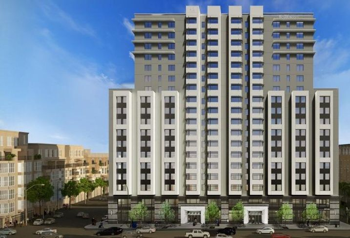 Hawkins Way Capital and Wolff Urban Parters's dual-branded Marriott coming to 1431 Jefferson St. in Oakland