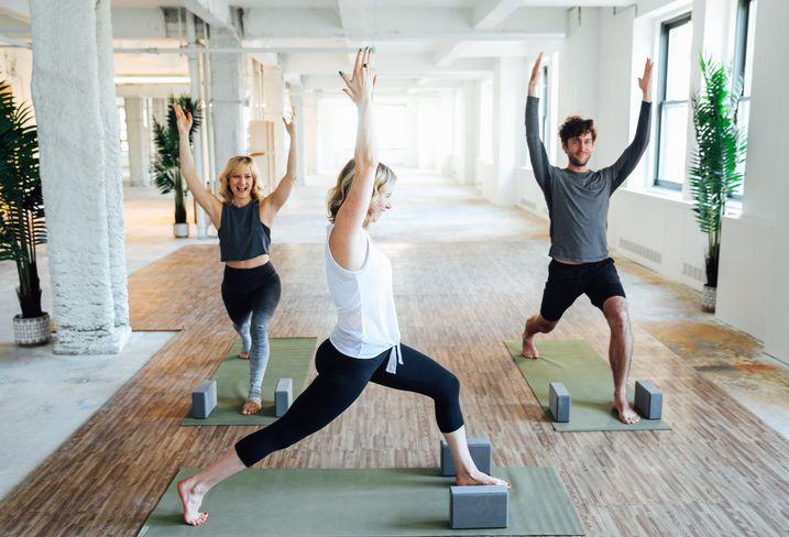 Yoga at 340 Madison Ave.