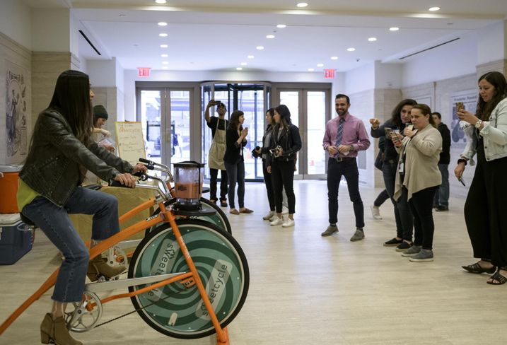 Sweetcycle at 530 Fifth Ave.