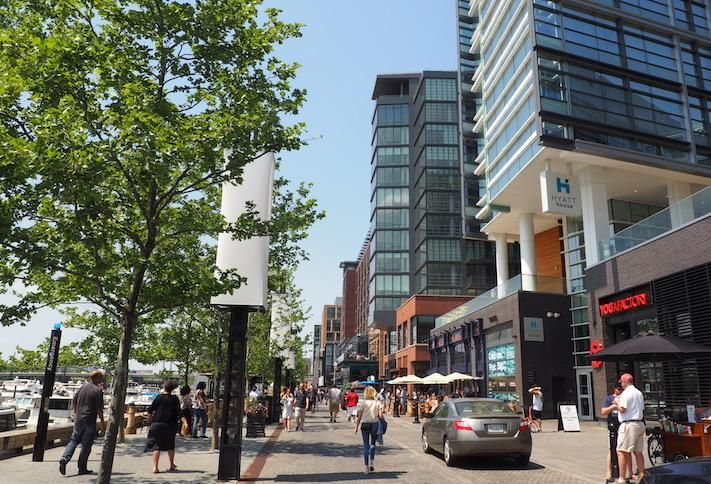 Water Street at The Wharf
