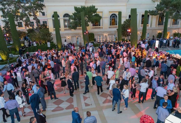 H&R Retail, KLNB, Kimco Realty, Peterson Cos. and Rappaport threw the first Retail Revelry in the DMV, a new party celebrating retail real estate in the Washington, D.C., Maryland and Virginia market, during the second day of the ICSC RECon at the Bellagio Grand Terrace and Pool in Las Vegas.