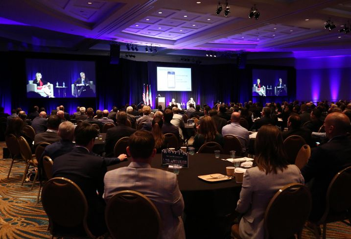More than 800 industrial professionals attended NAIOP's I.CON Industrial Real Estate conference in Long Beach.